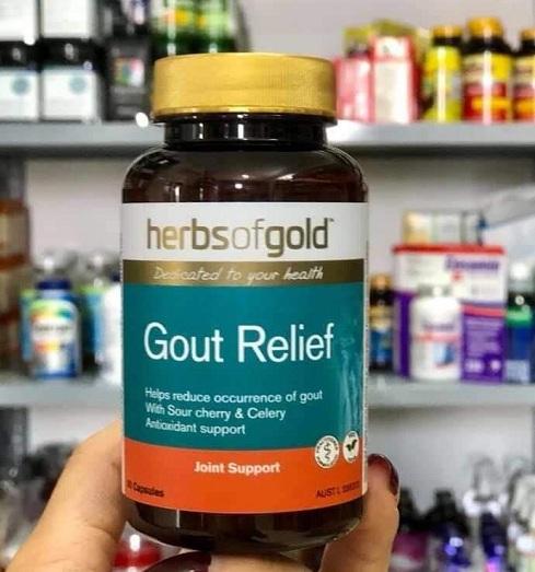 Viên uống Herbs Of Gold Gout Relief 60 viên chính hãng Úc 2