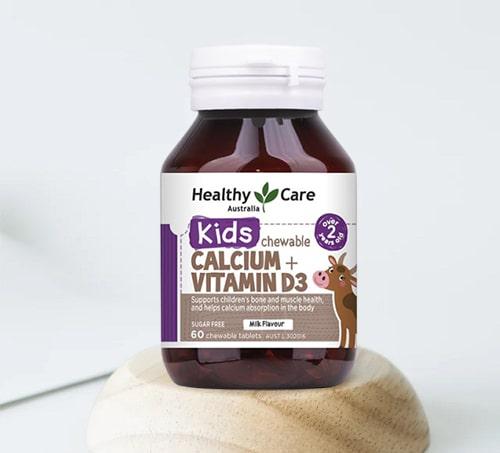 Viên nhai Healthy Care Calcium + Vitamin D3 giá bao nhiêu-3