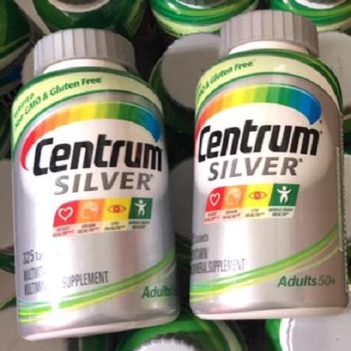Viên uống Centrum Silver Adults 50+ có công dụng gì?