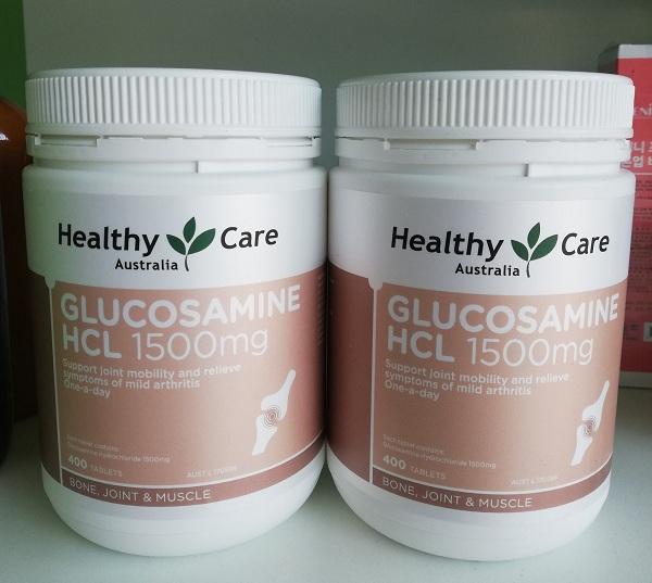 Glucosamine 1500mg Australia Healthy Care 400 viên của Úc 2