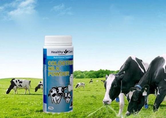 Cách pha sữa bò non Úc Colostrum Milk Powder 300g cho bé 1