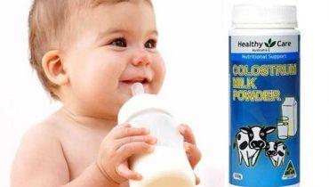 Cách pha sữa bò non Úc Colostrum Milk Powder 300g cho bé