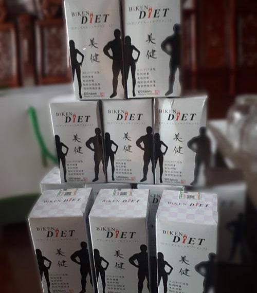 Viên uống giảm cân Biken Diet giá bao nhiêu?-3