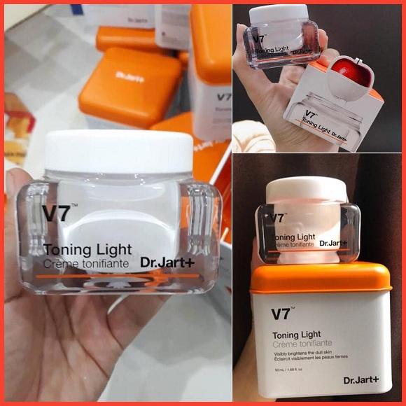 Kem dưỡng trắng da V7 Toning Light Dr Jart+ chính hãng 1