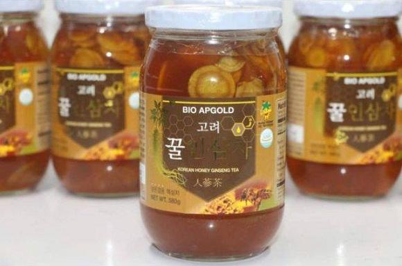 Sâm lát ngâm mật ong 580g Bio Apgold Hàn Quốc, giá tốt 3