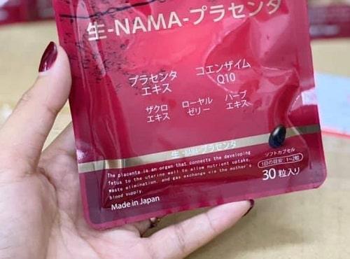 Placenta Namapla Q10 có tác dụng gì cho da?