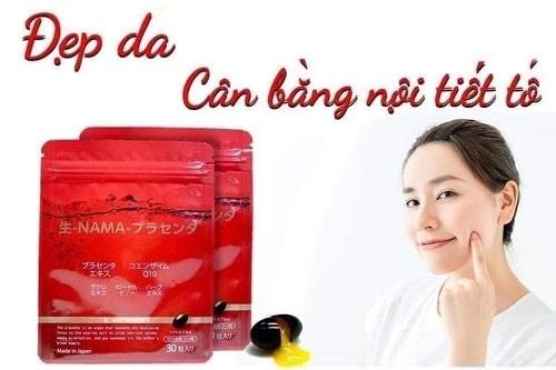 Placenta Namapla Q10 có tác dụng gì cho da?-3