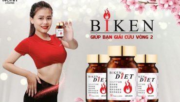 Mua viên uống giảm cân Biken Diet giá tốt ở đâu?