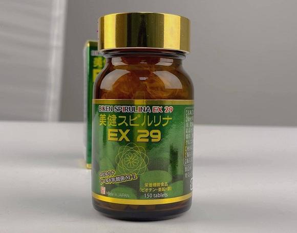 Uống tảo xoắn Biken Spirulina EX 29 có mập không? Cách uống 1