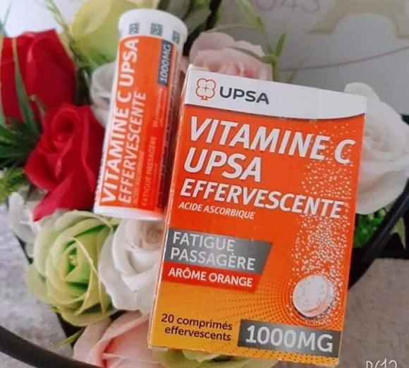 Viên sủi Vitamin C UPSA effervescente 1000mg Pháp chính hãng 6