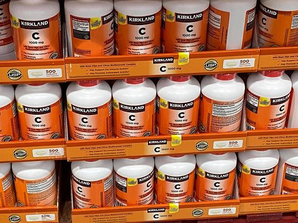 Viên uống bổ sung vitamin C 1000mg Kirkland 500 viên của Mỹ 9